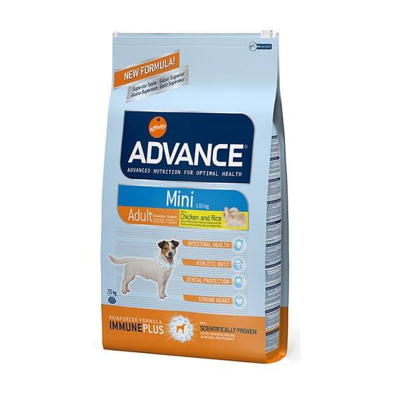 Ração Para Cães Mini Adult Frango e Arroz 7,5 Kg da Advance