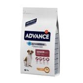 Ração Para Cães Mini Sénior +8 Frango y Arroz 3 Kg da Advance