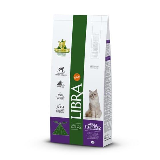 Libra Ração Para Gatos Adult Sterilized Frango e Cevada 1,5 Kg da Affinity