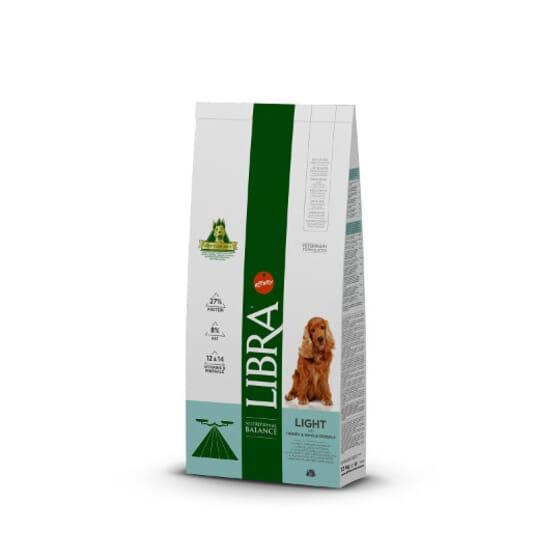 Libra Ração Para Cães Adulto Light Peru Cereais 12kg da Affinity
