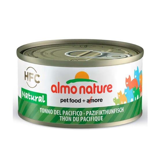Cat Hfc Legend Natural Atún Del Pacifico 70g de Almo Nature