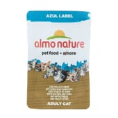 Adult Cat Azul Label Pollo y Atún 70g de Almo Nature