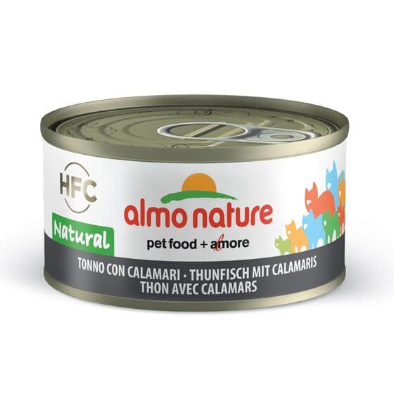 Cat Hfc Legend Natural Atún y Calamares 70g de Almo Nature