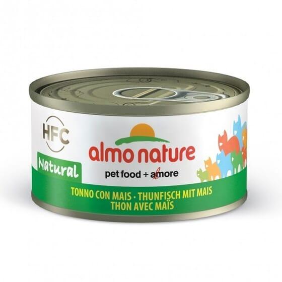 Cat Hfc Legend Natural Atún y Maiz Dulce 70g de Almo Nature