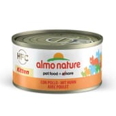 Cat Hfc Legend Natural Kitten Frango 70g da Almo Nature