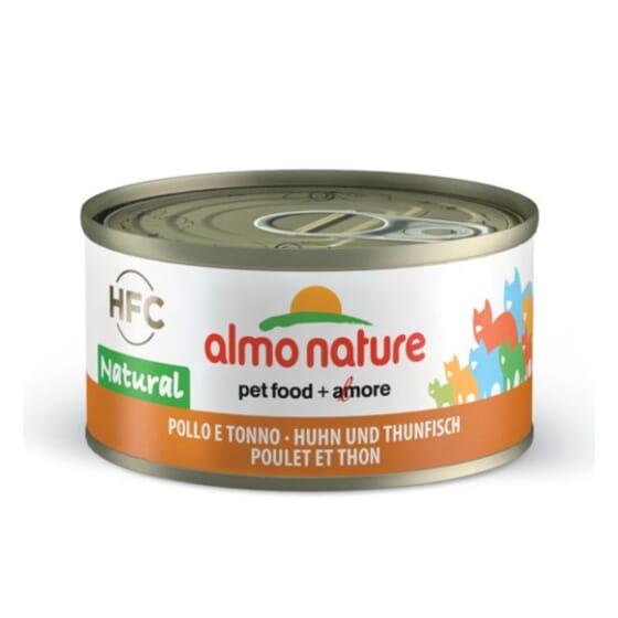 Cat Hfc Legend Natural Pollo y Atún 70g de Almo Nature