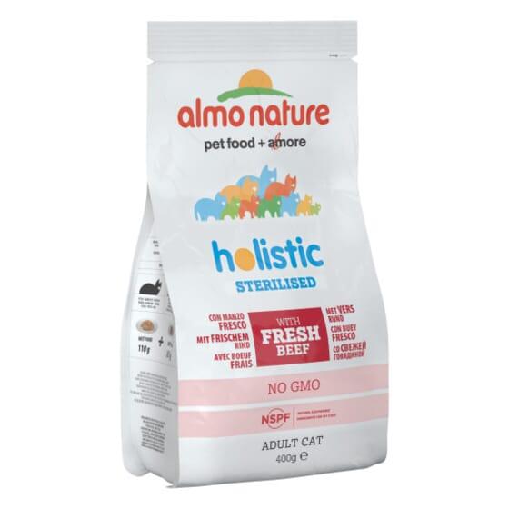 Cat Functional Dry Esterilizado Vacuno y Arroz 400g de Almo Nature