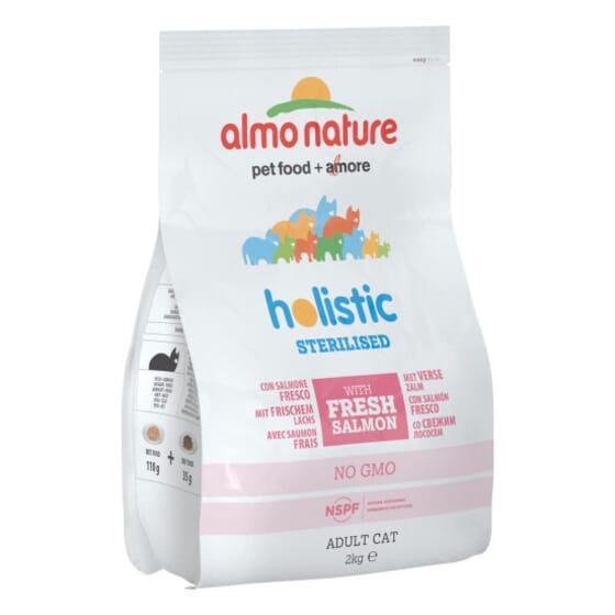 Cat Functional Dry Esterilizado Salmón y Arroz 2 Kg de Almo Nature