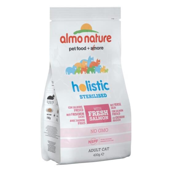 Cat Functional Dry Esterilizado Salmón y Arroz 400g de Almo Nature