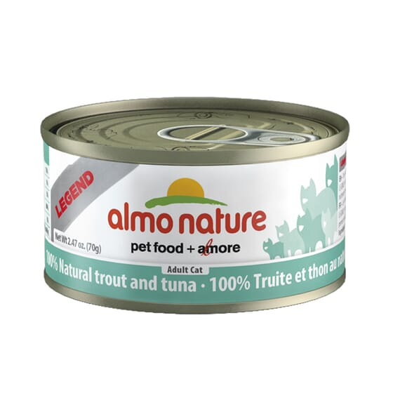 Adult Cat Hfc Legend Natural Atún y Trucha 70g de Almo Nature