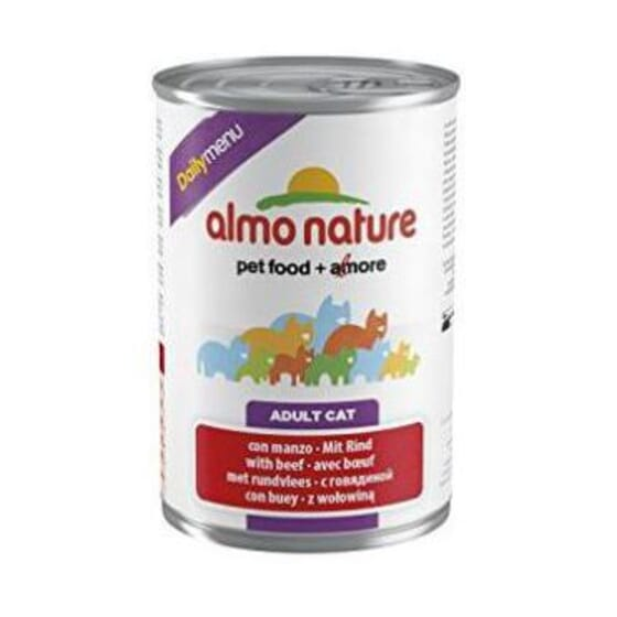 Adult Cat Daily Menu Buey 400g de Almo Nature