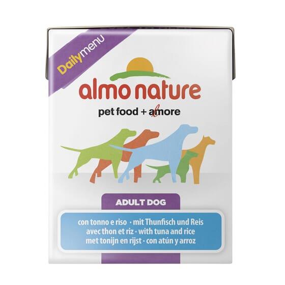 Adult Dog Daily Menu Atún y Arroz 375g de Almo Nature