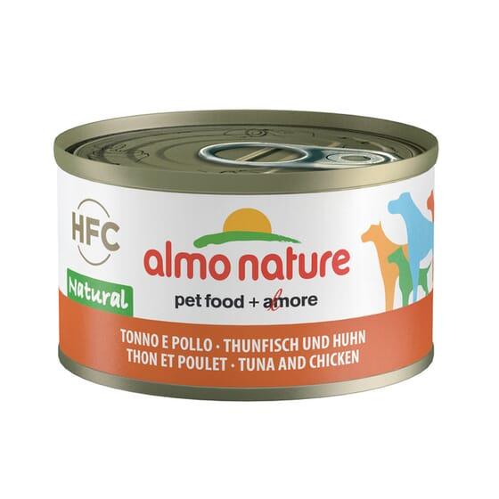 Dog Classic Atún y Pollo 95g de Almo Nature