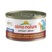 Dog Classic Vacuno, Patatas y Guisantes 95g de Almo Nature