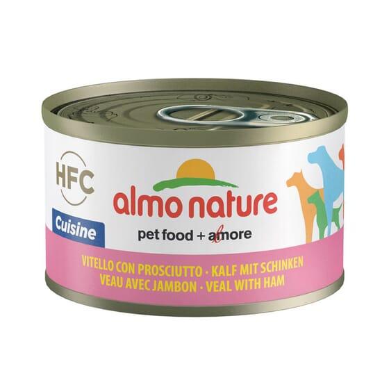 Dog Classic Ternera y Jamón 95g de Almo Nature