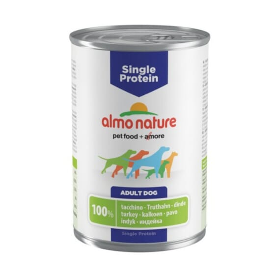 Adult Dog Single Protein Pavo 400g de Almo Nature