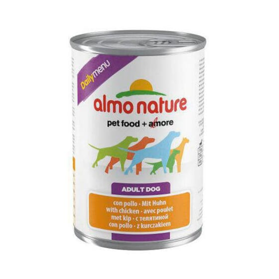 Adult Dog Daily Menu Pollo 400g de Almo Nature