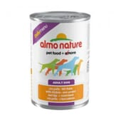 Adult Dog Daily Menu Pollo y Guisantes 300g de Almo Nature