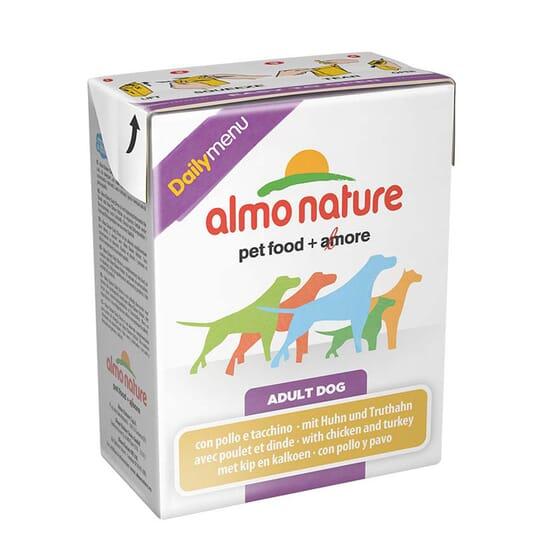 Adult Dog Daily Menu Pollo y Pavo 375g de Almo Nature