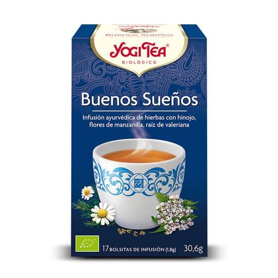 Buenos Sueños Bio 17 Infusões da Yogi Tea