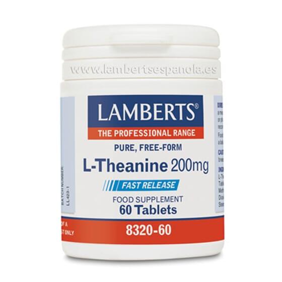 L-THEANINE 200 mg 60 Comprimés - LAMBERTS