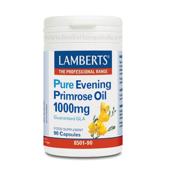 Pure Evening Primrose Oil 1000mg 90 Caps de Lamberts