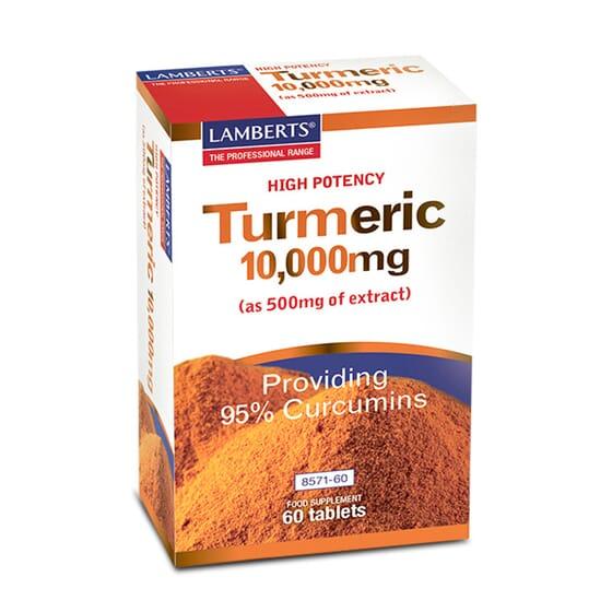 Turmeric 10Mg 60 Tabs da Lamberts