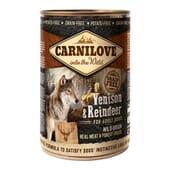 Comida Húmeda Perro Adulto Venado y Reno 400g de Carnilove