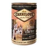 Comida Húmeda Cachorro Salmón y Pavo 400g de Carnilove