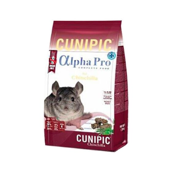 Alpha Pro Chinchilla 1,75 Kg de Cunipic