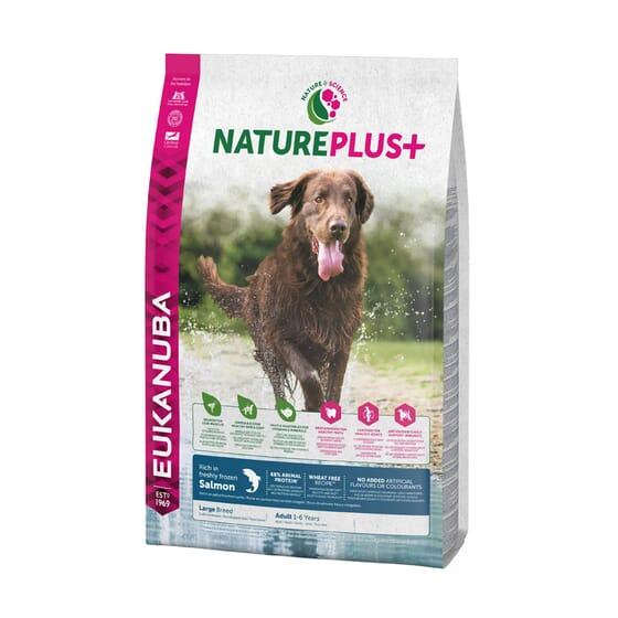Nature Plus+ Cão Adulto Raças Grandes Salmão 10 Kg da Eukanuba