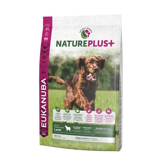Nature Plus+ Cachorro y Junior Cordero 10 Kg de Eukanuba