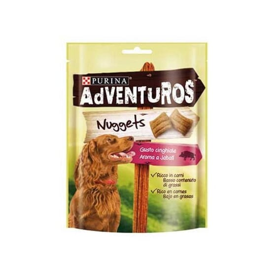 Adventuros Nuggets Javali 90g da Purina
