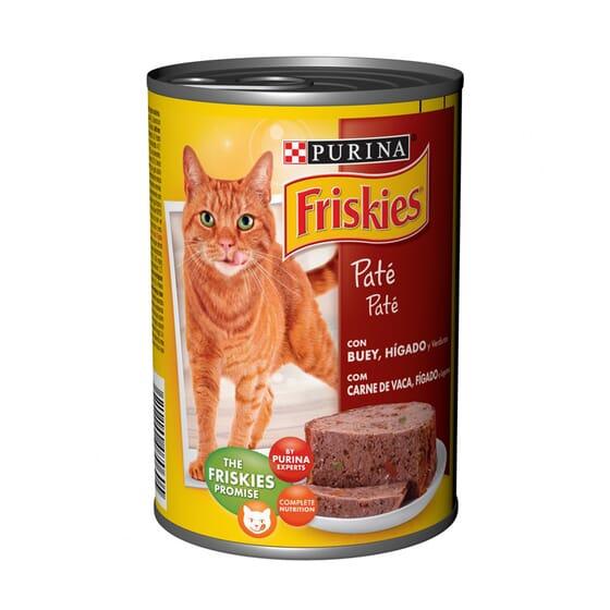 Gato Adulto Con Buey E Hígado En Paté 400g de Friskies