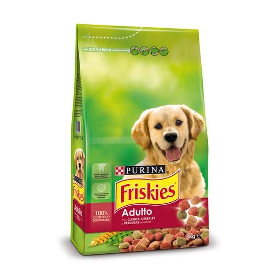 Perro Adulto Buey Con Cereales y Verduras 3 Kg de Friskies