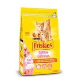Junior Gatos Hasta 1 Año Pollo, Leche y Verduras 1,5 Kg de Friskies