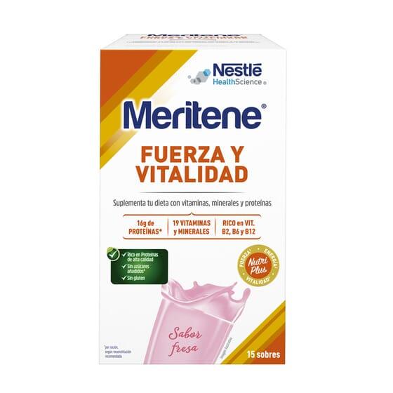 MERITENE FORCE ET TONUS 15 x 30 g - MERITENE