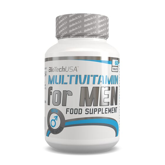 MULTIVITAMIN FOR MEN 60 Comprimés - BIOTECH USA