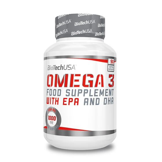 OMEGA 3 - 90 Gélules molles - BIOTECH USA