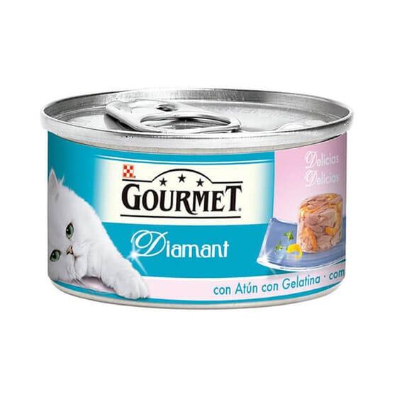 Diamant Gelatina Atún Con Gambas 85g de Gourmet