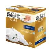 Gold Mousse Pack Surtido 8X85g de Gourmet