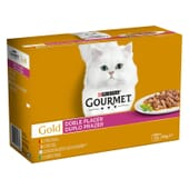 Gold Doble Placer Pack Sortido 12X85g da Gourmet