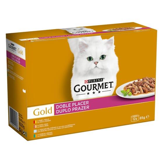 Gold Doble Placer Pack Sortido 12X85g da Gourmet
