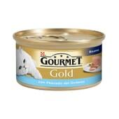 Gold Mousse Com Peixe Do Oceano 85g da Gourmet