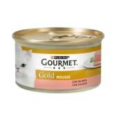Gold Mousse Salmón 85g de Gourmet