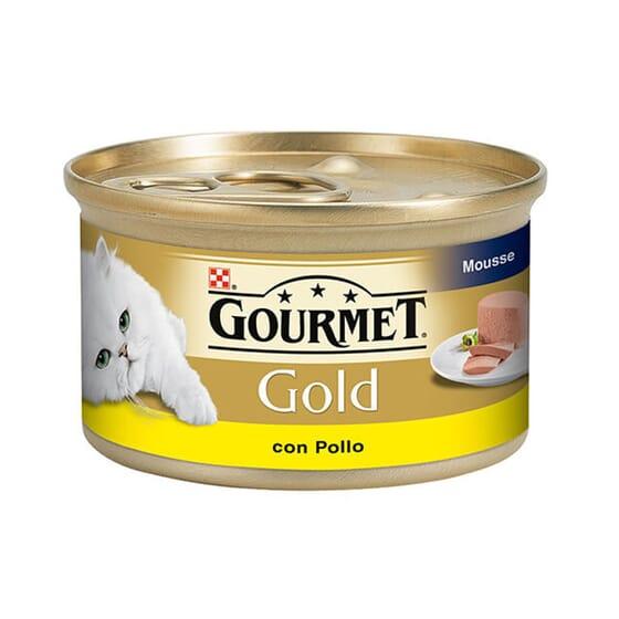 Gold Mousse Pollo 85g de Gourmet