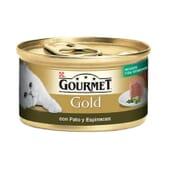 Gold Mousse Pato e Espinafres 85g da Gourmet