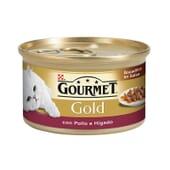 Gold Bocaditos En Salsa Pollo e Hígado 85g de Gourmet
