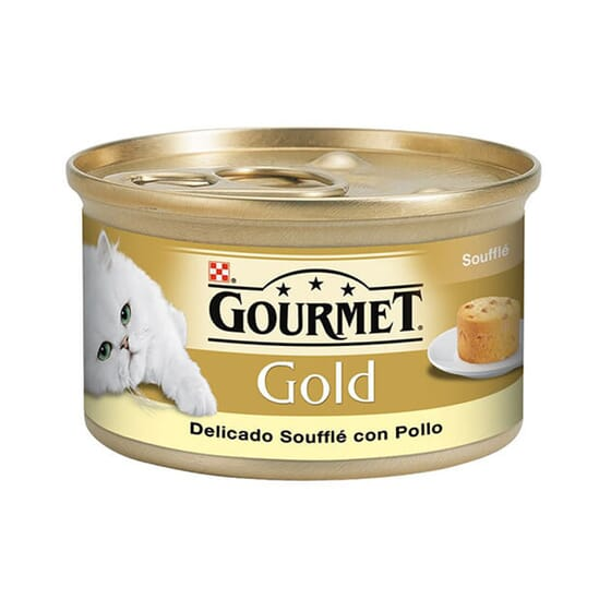 Gold Soufflé Pollo 85g de Gourmet
