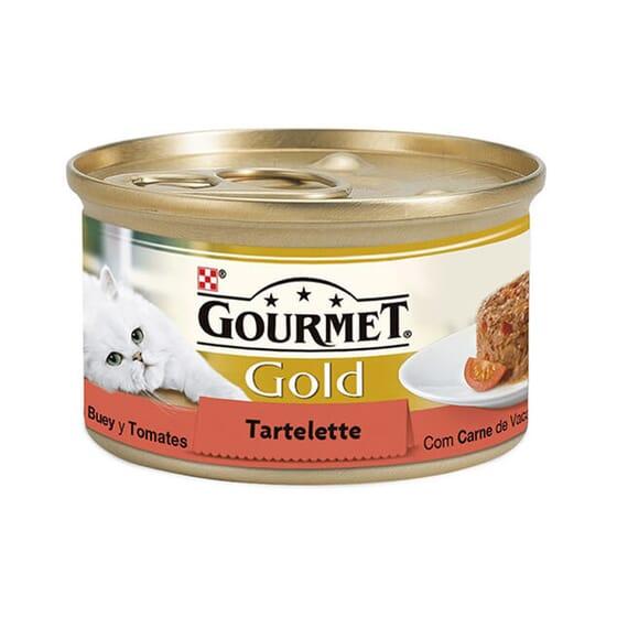 Gold Tartelette Buey y Tomate 85g de Gourmet